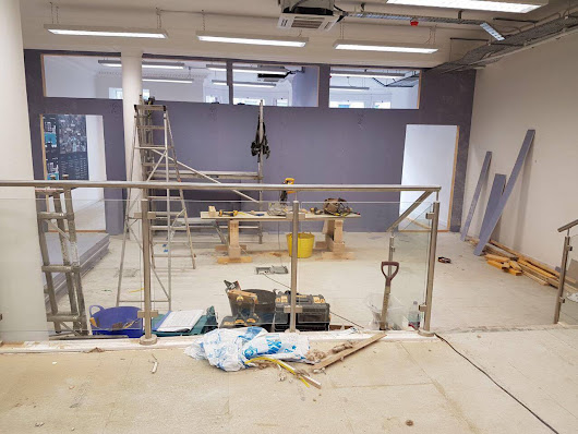 Development of our new state of the art hearing clinic in Glasgow - The Hearing Clinic UK