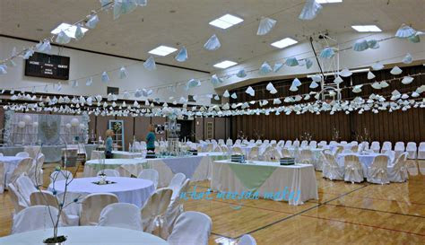 wedding reception in gyms decorated   Google Search