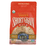 Lundberg Family Farms Short Grain Brown Rice - Case of 6 - 1 lb.