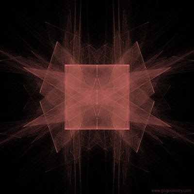Geometric Art: Square 2, Fractal Image. iPad Apps: fractBG.