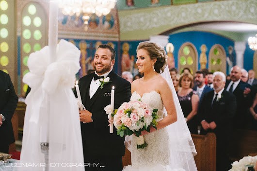 Beautiful Greek Orthodox Wedding Celebration with Christina and Jon
