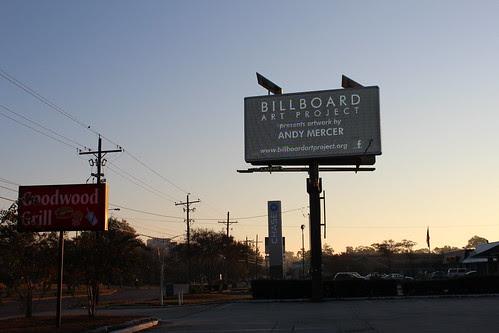 Baton Rouge Billboard Art Project Andy Mercer  (3) by The Billboard Art Project
