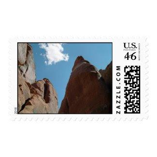 Sandstone Fins Close-Up – Medium stamp