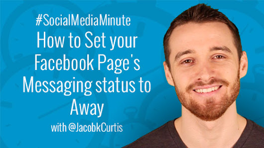 How to Set your Facebook Page's Messaging status to Away -