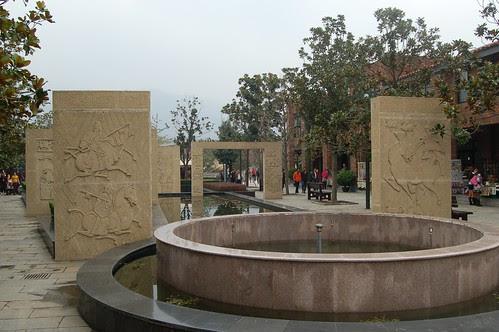 Der Eingang zum Musem der Terrakotta Armee in Xi'an