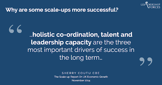 What do Leaders need to do to Scale-Up a Company? - Leadership Forces