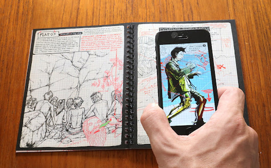 This augmented reality comic book offers a glimpse at the future of storytelling