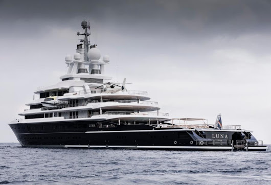 Luna: the world's 3rd largest explorer yacht - Yacht Harbour