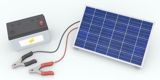 Which Batteries Go With Solar Panels?