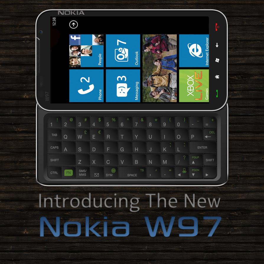 Nokia W97 Runs Windows Phone, Its Exactly What Microsoft and Nokia Are Missing