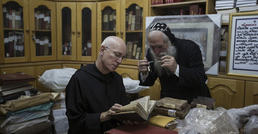 The Monk Who Saves Manuscripts From ISIS