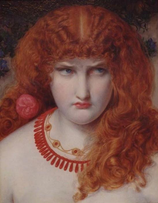 Frederick Sandys - Helen of Troy