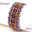 Tutorial Margarita Bracelet - Beading Tutorials and Patterns by Ellad2