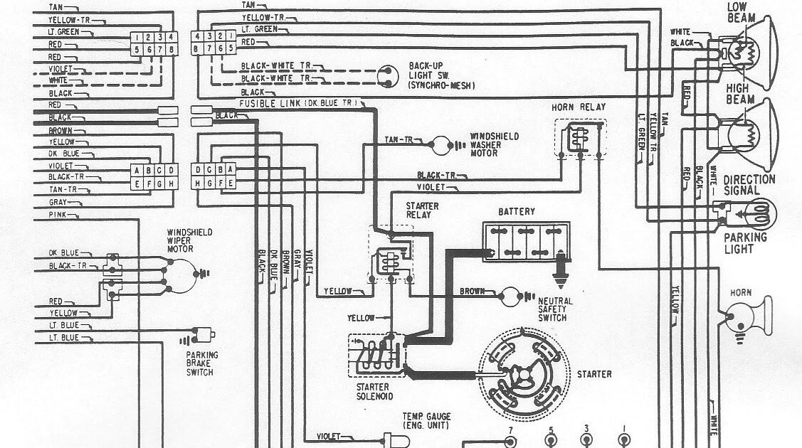 1968 Dart Wiring Diagram
