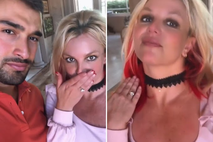 Britney Spears Is Engaged! 💍