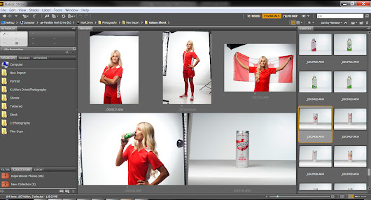Shoot for Golazo Natural Energy Drink With Team Canada Player Kaylyn Kyle | The Parallax Effect
