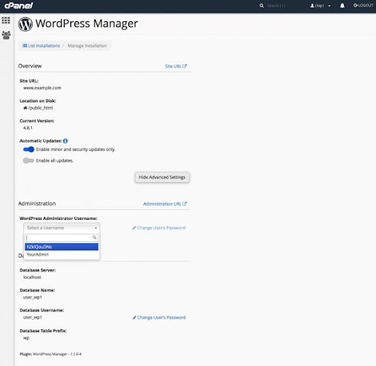 WordPress Manager | A Better WordPress Experience with cPanel | cPanel Blog