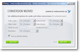 Firefox Add-in - Media Converter