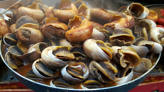 Where to eat and drink in Isla Canela - Cultural dishes - Snail Festival!! ~ Casa Chambers.