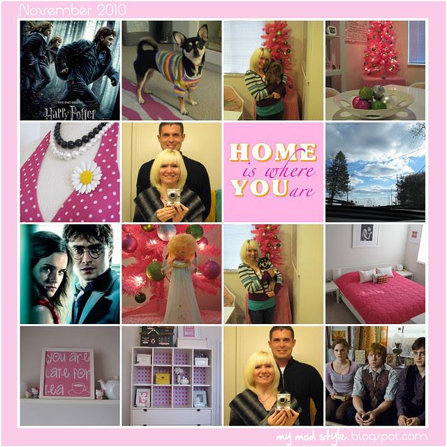 Monthly Mosaic 10x10 november 2010