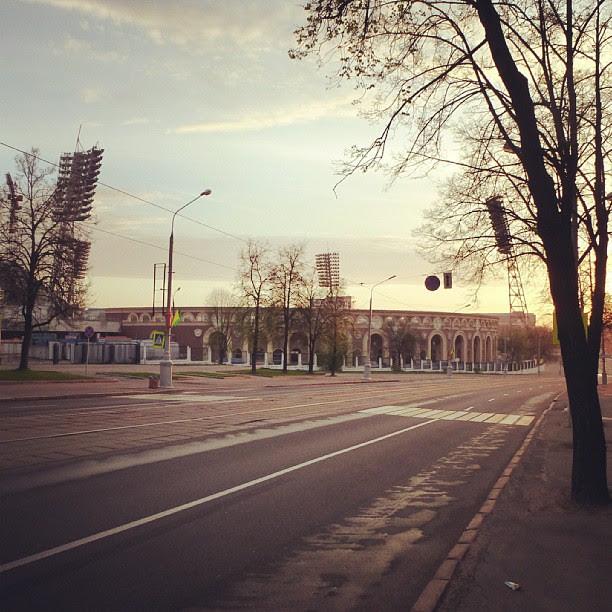 "Стадион ""Динамо"" в 5 утра"