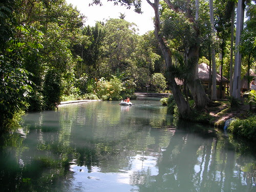 The beautiful river at Las Estancas