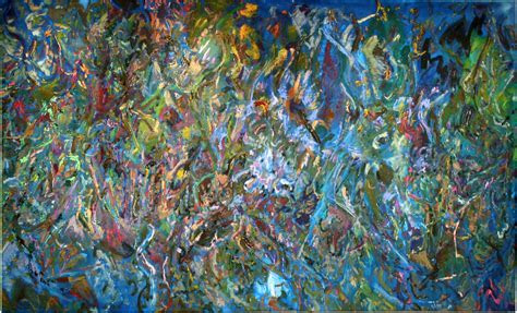 Abstract painter Larry Poons brings art to Miami nature