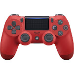 DualShock 4 Wireless Controller for Sony PlayStation 4 - Magma (red)