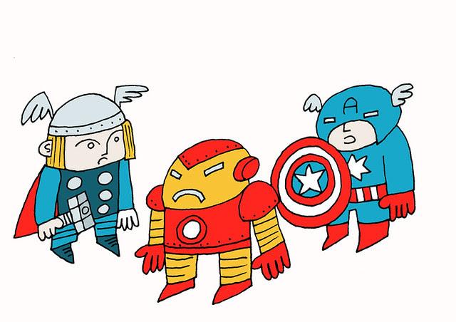 Three avengers