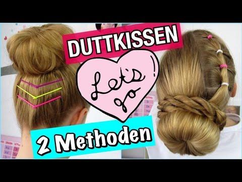 Duttkissen2 Verschiedene Methoden Dutt Plus Sommer Look