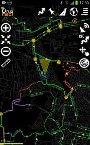 Plano ciclista para Android