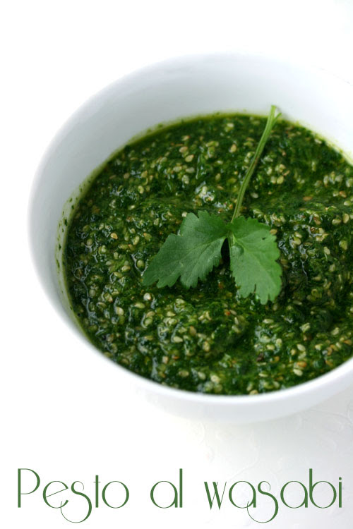 Pesto al wasabi