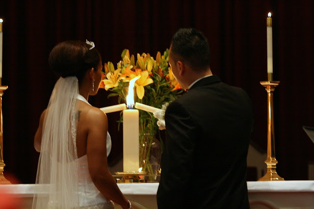 Lighting the Unity Candle | Flickr - Photo Sharing!