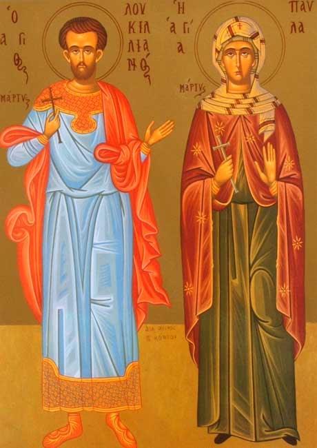 img ST. LUCILLIAN, Martyr