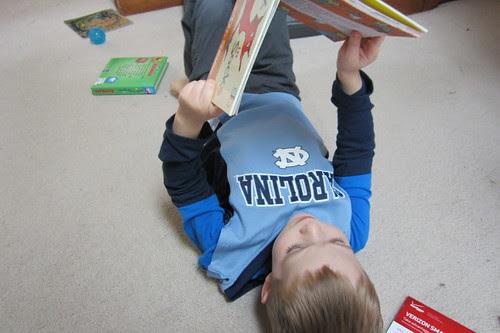 big boy reading
