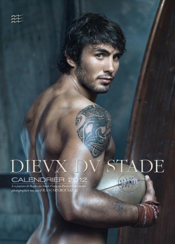 dieux du stade 2012 e1316365583393 Calendrier Dieux du Stade 2012 : première photo, noms et tailles des joueurs de rugby