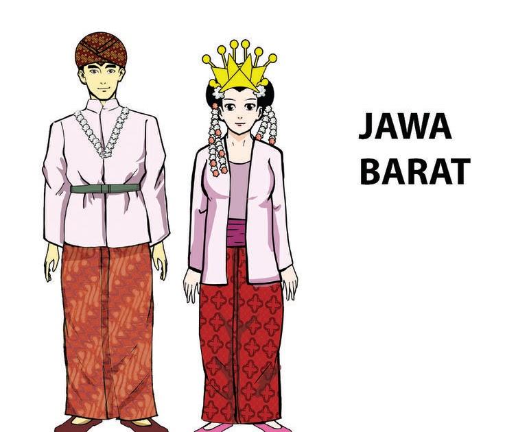Inilah 55 Baju Adat Sunda Animasi
