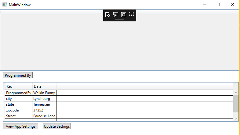 Checking for duplicate keys using WPF and C#