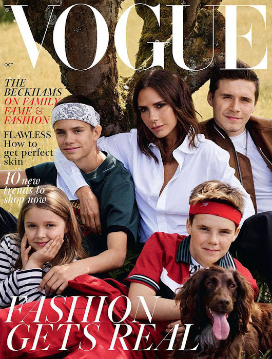 Must Read: The Beckham Family Covers 'Vogue' UK, IMG Rethinks Fashion Week