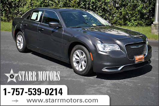 Certified Pre-Owned 2016 Chrysler 300 Limited 4 Door Sedan in Suffolk #CP10891 | Starr Motors
