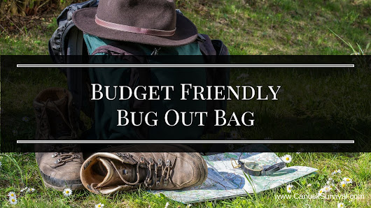 Budget Friendly Bug Out Bag - Canuck Survival