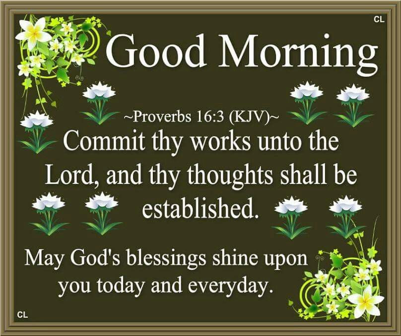 Good Morning May Gods Blessings Shine Upon You Today And Everyday