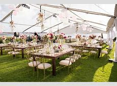 Your Guide to Tented Wedding Receptions   Inside Weddings