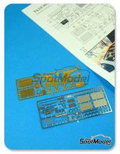 Fotograbados 1/24 Renaissance Models - Mclaren F1 GTR Long Tail 1997 - 1998 para kits de Aoshima
