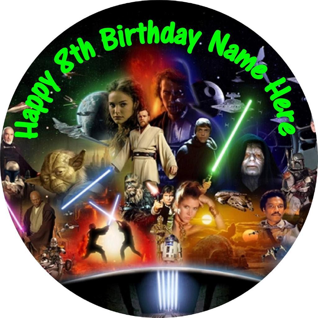 Imágenes De Star Wars Edible Cake Toppers Australia
