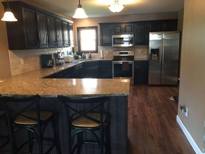 From Kitchen Island to Peninsula - Kitchen Remodel | Hometalk
