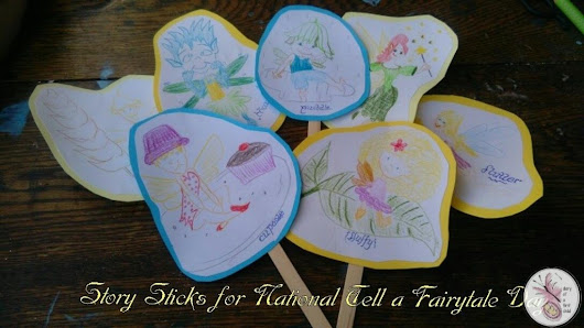 Fairy Story Sticks (For National Tell A Fairytale Day) - Diary of a First Child