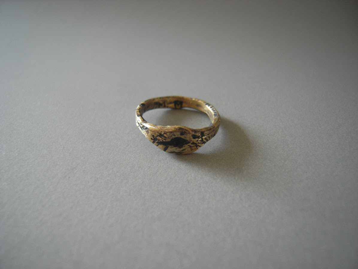 Meloni Mitchell - Missing Stone 'Evil Eye' Ring