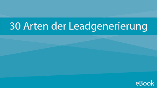 e-book Leadgenerierung | ONMA
