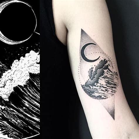 moon ocean  images ocean tattoos ocean life